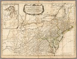 Map Of Maryland And Virginia by A General Map Of The Middle British Colonies In America David