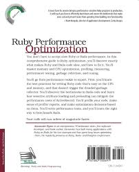 ruby performance optimization why ruby is slow and how to fix it