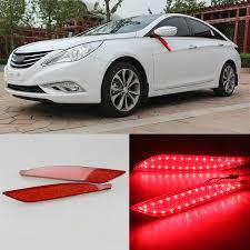 2013 hyundai sonata tail light bulb size ownsun led reflector rear tail light bumper with turn singnal for