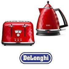Toasters Delonghi Blue Delonghi Vintage Icona Kettle U0026 4 Slice Toaster 20l Retro