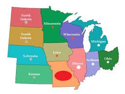 United States Of America Map Quiz by Midwest State Quiz Playbuzz