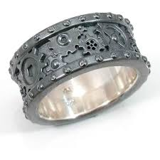 gear wedding ring best 25 gear ring ideas on steunk rings working