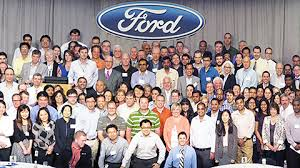 ford motor company human resources departments