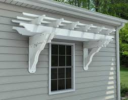 wall mounted pergola crafts home