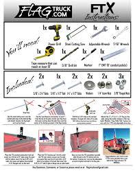 Truck Bed Flag Mount Flagtruck Com Flagtruck Com Home America U0027s First And Only