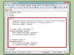 rumus membuat latar belakang 4 cara untuk memasang warna latar belakang html wikihow
