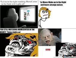 Meme Center Sign Up - memecenter in the night by nindo meme center