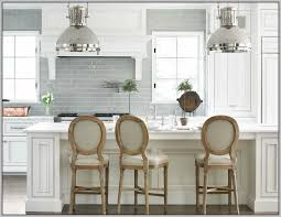 Cabinet Color For Ovens Subway Tile Backsplash Dark Cabinets - Grey subway tile backsplash