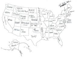 us map middle states in tried to label the 50 us states on a map these