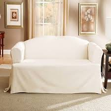 Sure Fit 3 Piece Sofa Slipcover by Cotton Duck Sofa Slipcover Sure Fit Target
