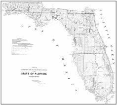 Flordia Map Sofia State Of Florida Map 1845
