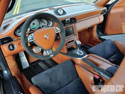 porsche turbo interior 2007 porsche 911 turbo evosport evo3 900 hardliner european