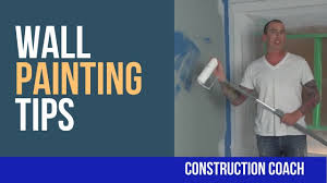 wall painting tips rolling the paint youtube