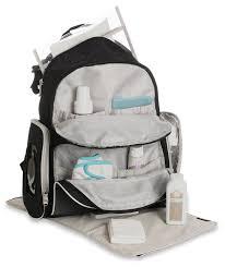 amazon com graco gotham smart organizer system baby diaper bag