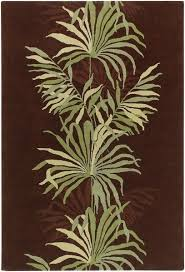 Green And Brown Area Rugs Chandra Rugs Aschera 6403 Area Rug Brown Green Design