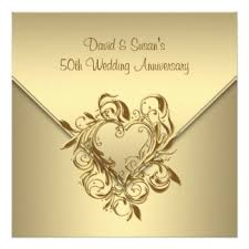 50th wedding anniversary greetings 50th wedding anniversary invitations announcements zazzle canada