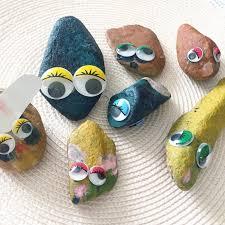 the love supreme kids crafting pet rocks