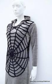 Spider Halloween Costume Black Tunic Halloween Costume Women Black Spider Lace