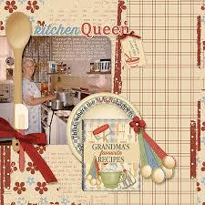 kitchen collections digital scrapbooking kit s kitchen paper biggie by ginny