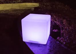 Outdoor Light Decorations Energy Saving Led Cube Light Decorations Outdoor Light Up Cubes