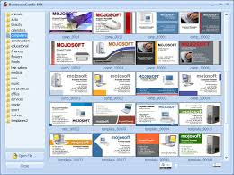 Business Card Template Software Business Cards Businesscards Mx Software For Designing Business Card
