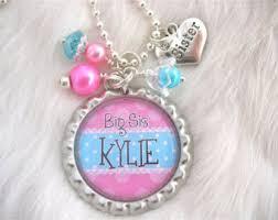 Personalized Kids Jewelry Children U0027s Jewelry Personalized Kids Necklace Big Sister