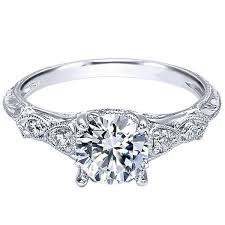 filigree engagement ring gabriel chelsea diamond engagement ring