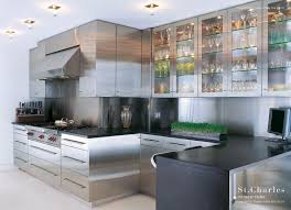 Nyc Kitchen Cabinets by Kitchen Stainless Steel Floating Shelves Kitchen Backyard Fire