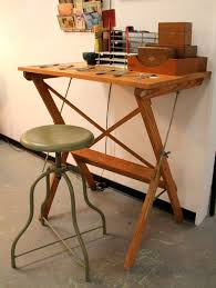 Foldable Drafting Table Found In Ithaca Folding Drafting Table Sold Vintage Green
