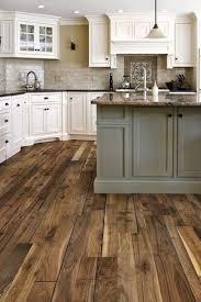 How To Install Laminate Flooring In Kitchen Cabinet Walnut Kitchen Floor Finished Walnut Kitchen Dark Floor