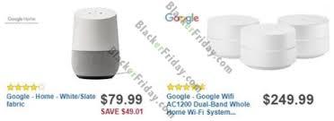 home black friday 2017 sale smart speaker deals