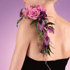 corsage flowers floral shoulder corsage call us 206 728 2588 seattle flowers