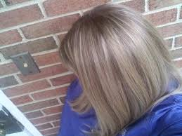 silver hair with blonde lowlights chunky highlights for dark brown hair hairstyling foil