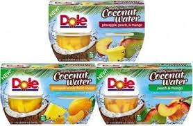 dole fruit snacks dole fruit bowls in coconut water pay as low as 1