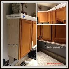 Kitchen Cabinet Makeover Installing Crown Molding On Kitchen Cabinets Unique Kitchen