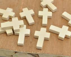 unfinished wooden crosses unfinished cross etsy