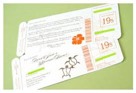 Boarding Pass Save The Date 10 Diy Wedding Save The Date Ideas