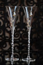 wedding goblets wedding flutes set mr and mrs glasses gold wedding glass