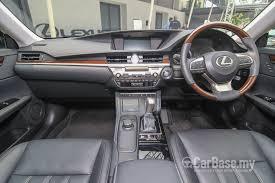 lexus es interior lexus es 6th gen facelift 2015 interior image in malaysia