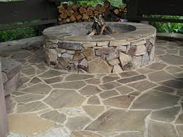 Firepit Stones We Collected A Great Deal Of And Quartz From Our Yard