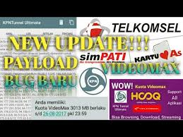 bug baru telkomsel new payload videomax telkomsel kpn ultimate bug baru youtube
