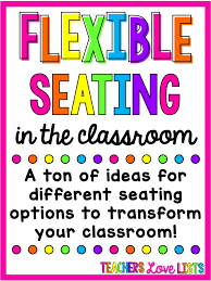 Pre K Classroom Floor Plan Flexible Seating Classroom Ideas And Seating Options Teachers