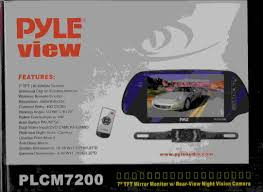 need help on wiring a rearview mirror backup camera plcm 7200