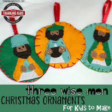 three wise ornaments for to make thinking