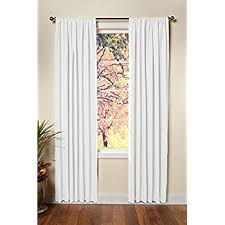 Two Curtains In One Window Amazon Com Exclusive Home Curtains Loha Linen Window Curtains