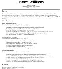 resume exles for customer service position customer service rep resume sle