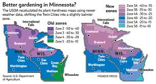 Garden Planting Zones - usda milder winters mean some changes in plant hardiness zones
