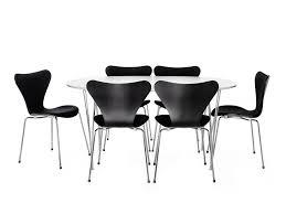 fritz hansen dining table fritz hansen table series super circular span base dining table by