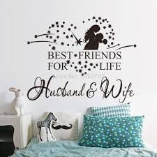 wife husband wedding decal bedroom wall sticker wedding decoration wife husband wedding decal bedroom wall sticker wedding decoration removable wall art sticker home wedding decor inexpensive wall decals inspirational wall