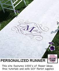 personalized aisle runner personalized aisle runner